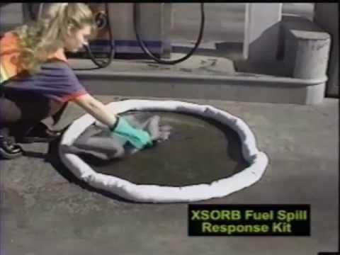 XSORB Fuel Spill Response Kit