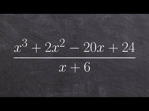 Using long division to divide two polynomials then determine the remaining zeros from quot