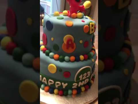 Seasame Street Elmo Birthday