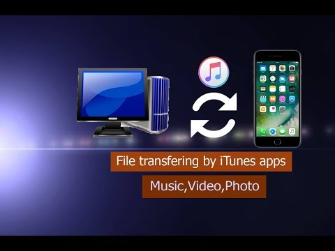 How to transfer file from iPhone to computer using iTunes Bangla tutorial