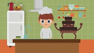 Pat A Cake Nursery Song