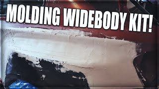 DIY Widebody M3: Molding the driver side! Pt  18