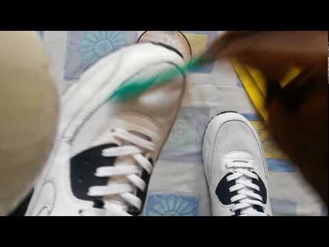 How to clean a Nike Air Max 90