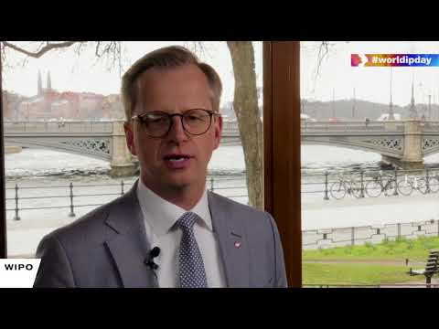 World IP Day Message from Mikael Damberg, Swedish Minister of Enterprise and Innovation