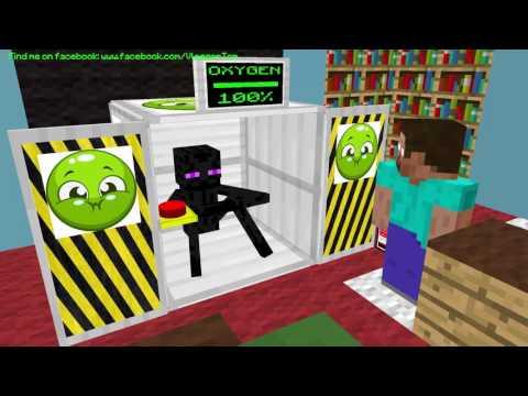 Monster School: Breath Holding - Minecraft Animation