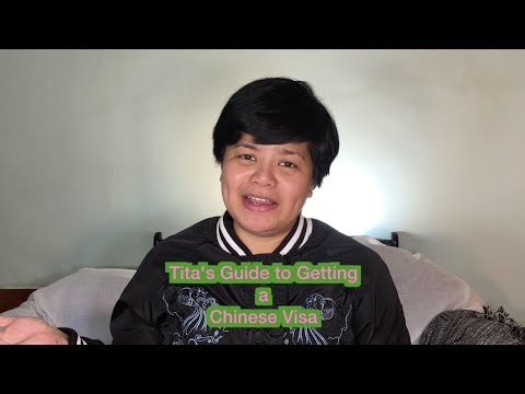 [Your Tita in China Travels] How to Get a Chinese Visa for Filipinos