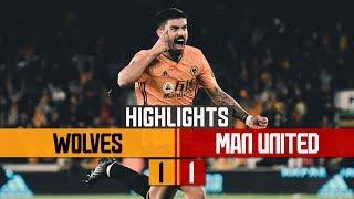 NEVES WONDERGOAL! | Wolves 1-1 Manchester United | Highlights