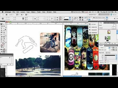 How to Outline Something in InDesign : InDesign & Graphics