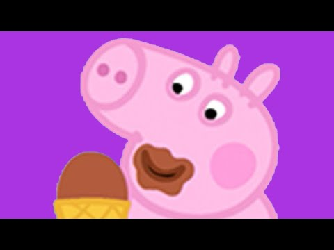 Peppa Pig English Episodes - New Compilation #8 (1 hour) - #057