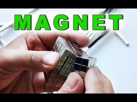Enjoy playing with magnet pieces. Magnet ABC, Cube and Bracelets. Let's Play Kids.