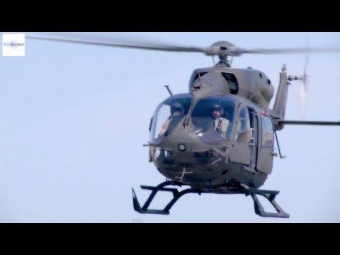 UH-72 Lakota Helicopters Training. Army National Guard.