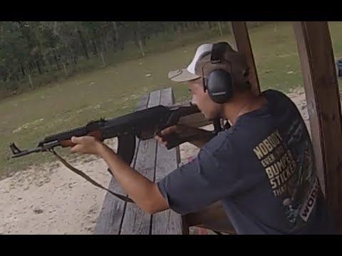Range Time: AK47, Shotgun, Glock, 22. Rifle