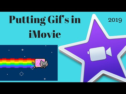 How to Insert Gifs into iMovie - 2018