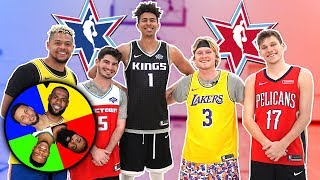 SPIN THE WHEEL OF ALL-STAR SIGNATURE MOVES KING OF THE COURT!