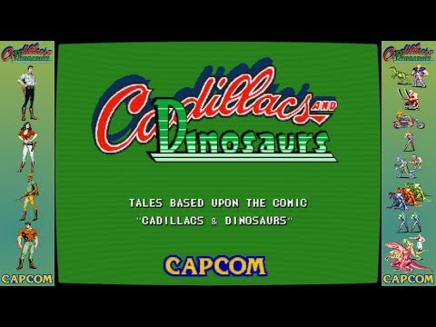 Cadillacs and Dinosaurs (UPDATED) Bezel Pack for M.A.M.E