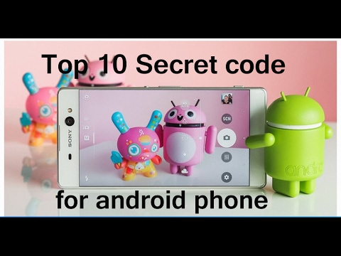 Top 10 Secret code for android phone
