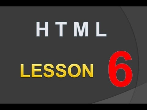 TTP | HTML | LE 06 - How to make a Link : Linking Documents, anchor tag, href, target, url