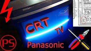 Эпичный ремонт Panasonic-a (полоса и видеосигнал)