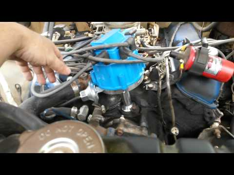 Ford 460 HEI swap. 77 F350.  Part 1
