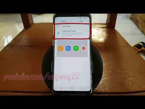 Samsung Galaxy S9 : How to Enable or Disable Icon frames (Android Oreo)