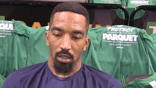 JR Smith interview before Game 5 against the Celtics