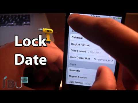 LockDate - Customize Lock Screen Date (Cydia Tweak)