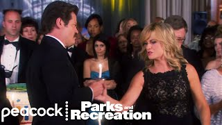 Ron Swanson vs. Leslie Knope - Parks and Recreation