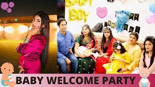 Baby's Welcome PARTY   Samreen Ali Vlogs