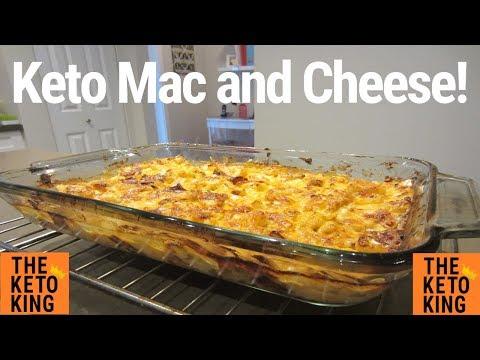 Keto Mac N Cheese | Cauliflower Mac N Cheese | Mac and Cheese