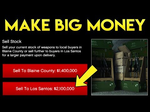 GTA Online - HUGE EVENT WEEK FOR MAKING MONEY! $2,000,000 Per Sale + Free Money Details!