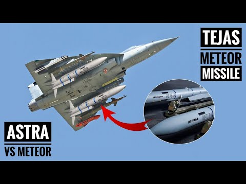Meteor Missile - Why IAF Is Buying Meteor Missile For Tejas? Meteor Vs Astra Missile (Hindi)