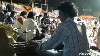 Anand_shinde with banjo master samir_bhai_patel programme in bikdin