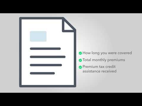 What is tax form 1095-A? - TurboTax Support Video