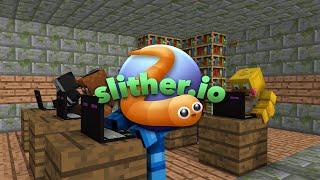 FNAF vs Mobs: Slither.io Challenge - Monster School (Five Nights At Freddy