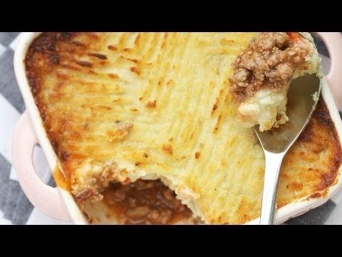Easy Shepherd's Pie Recipe - Beef Cottage Pie 캐서롤 만들기 Beef Casserole