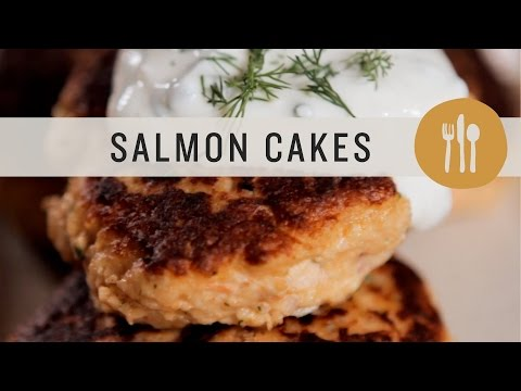 Superfoods - Salmon Cakes