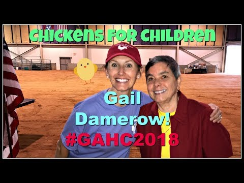 Chickens for Children with Gail Damerow! GAHC 2018~