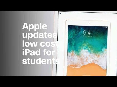 Apple launches updated $329 iPad for students