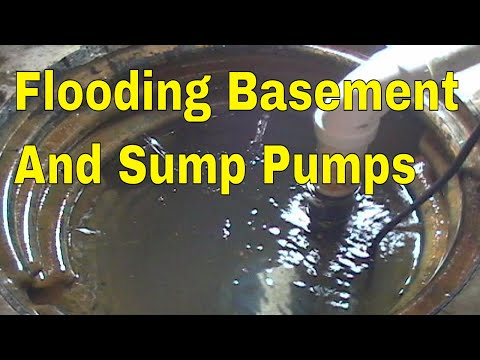 Stop Basement From Flooding