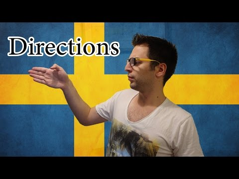 Learn Swedish | Simple Swedish 7 - Directions | Lesson 20