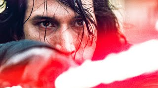STAR WARS 8: THE LAST JEDI Kylo Ren vs. Luke Skywalker Final Battle Scene (2017)