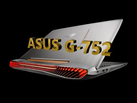 DinoPinch looks at  Asus g-752 customized by  Xoticpc.com