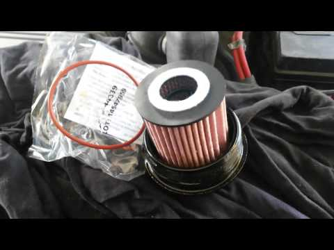 How to change Oil Filter Ford Escape Hybrid special wrench step by step