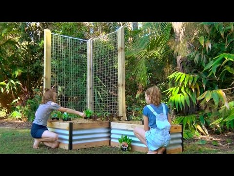 Easiest DIY Raised Garden Bed Ever!