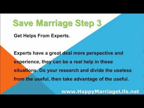Save Marriage Step 3 - Get Helps From Experts