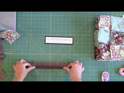 Rag Quilt Purse Video 3