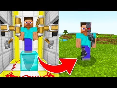 How to UPGRADE STEVE in Minecraft!