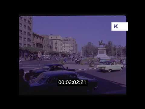 1950s Cairo GVS, Egypt in HD from 35mm | Kinolibrary