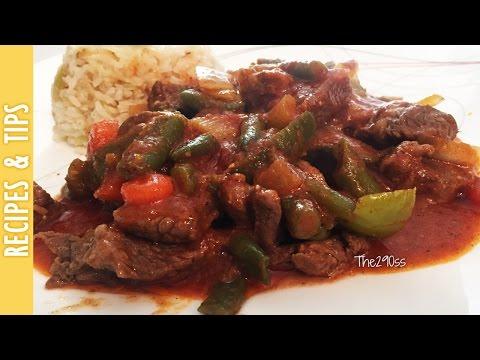 Carne con Salsa del Pato (Del Pato Beef Stew) -The290ss