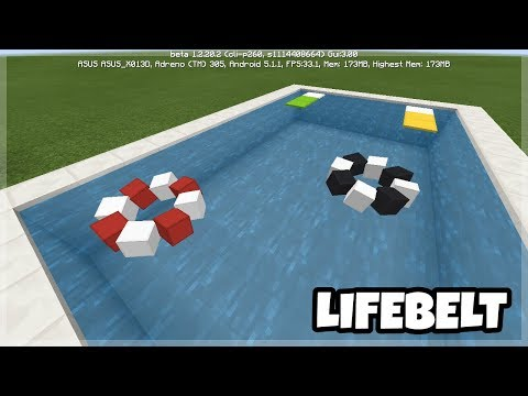 Minecraft PE: Working LifeBelt Tutorials